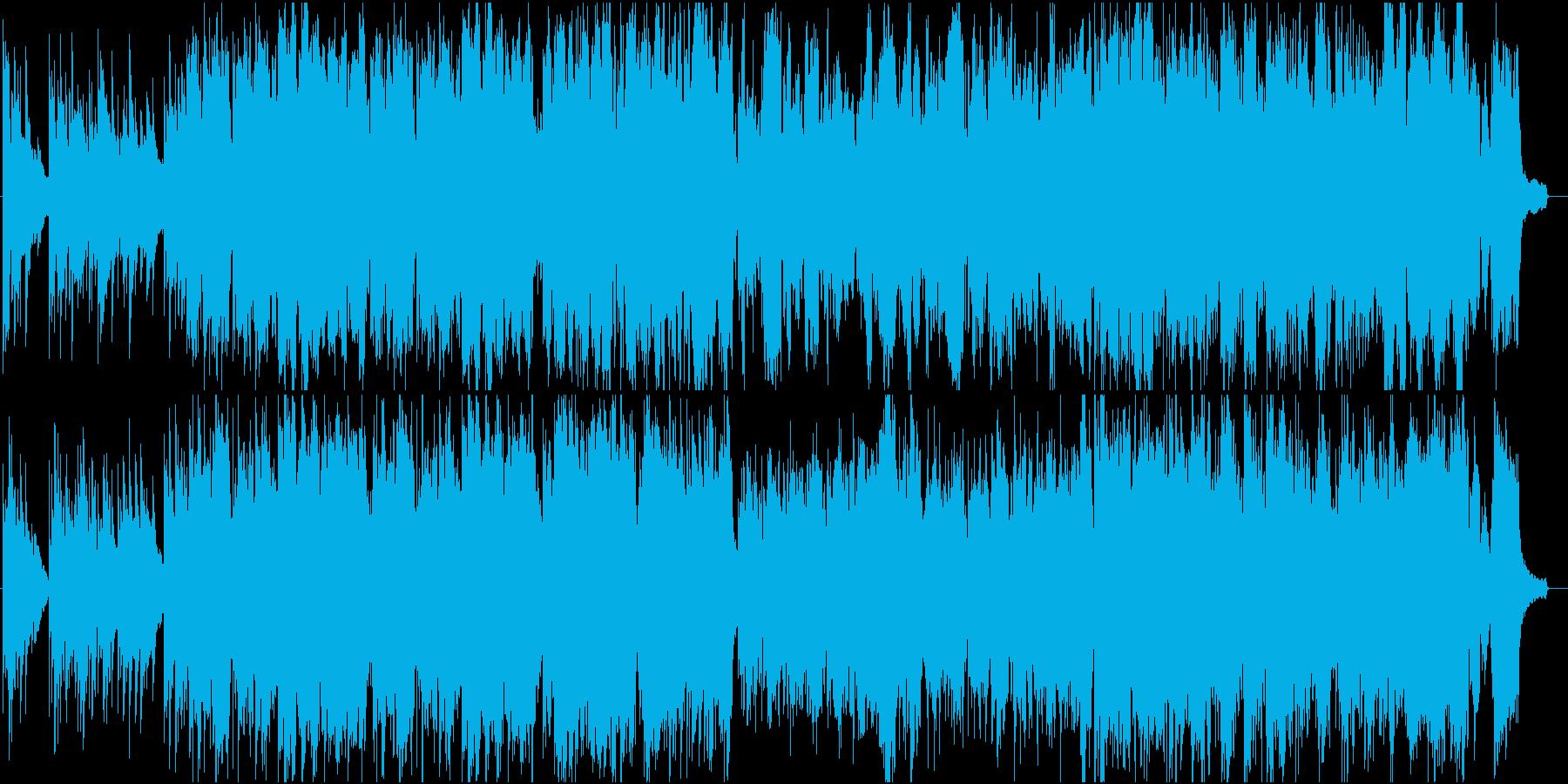 感動ヒーリング落ち着くピアノヴァイオリンの再生済みの波形