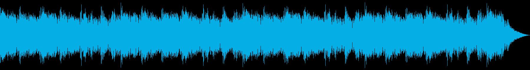 バトルBGM エスニックパーカッションの再生済みの波形