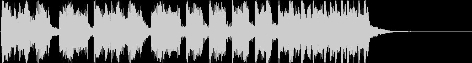 10秒・EDM・オープニング・ジングルの未再生の波形