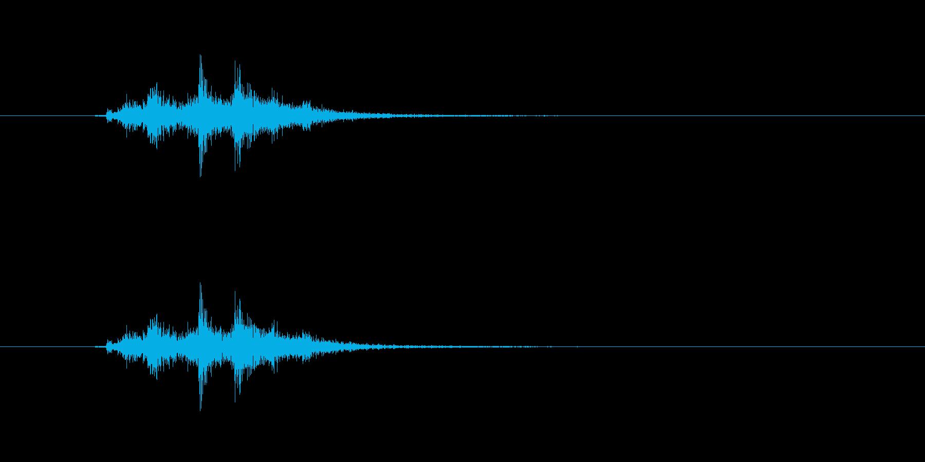 剣・構える-06の再生済みの波形