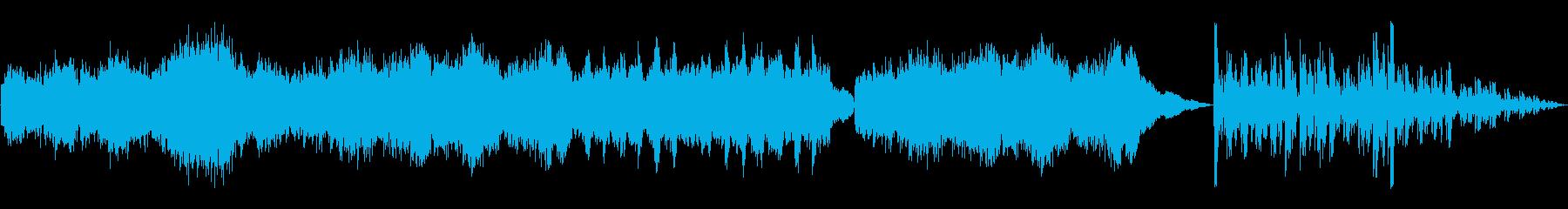 怪しげな雰囲気のピアノソロの再生済みの波形