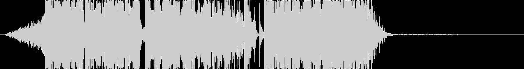 DUBSTEP クール ジングル136の未再生の波形