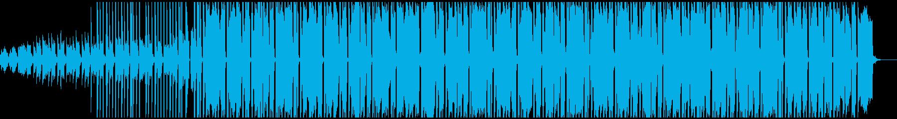 お洒落なピアノと太いベースが特徴のビートの再生済みの波形
