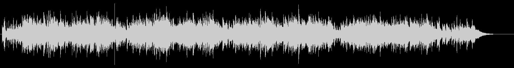 アコギ 軽快なカントリー・ウェスタン調の未再生の波形
