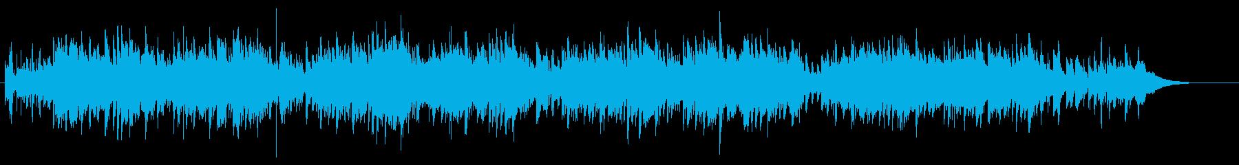 アコギ 軽快なカントリー・ウェスタン調の再生済みの波形