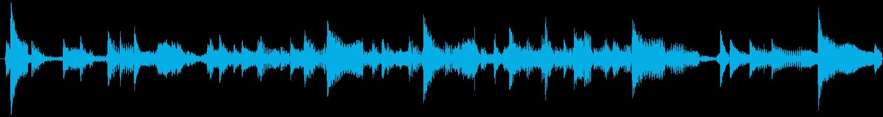 電話6の再生済みの波形