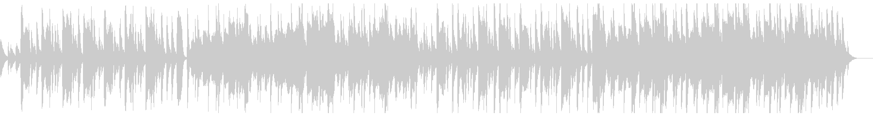 木琴とオーケストラのほのぼのポップスの未再生の波形