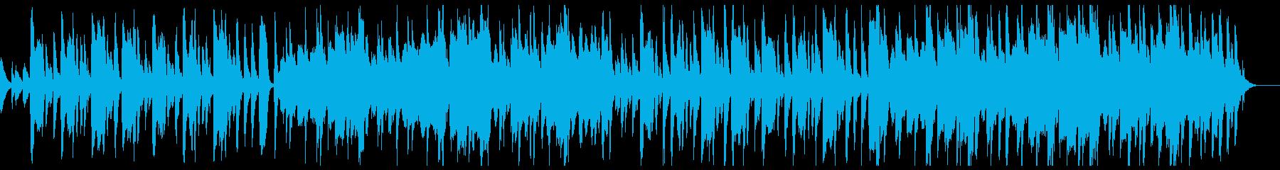 木琴とオーケストラのほのぼのポップスの再生済みの波形