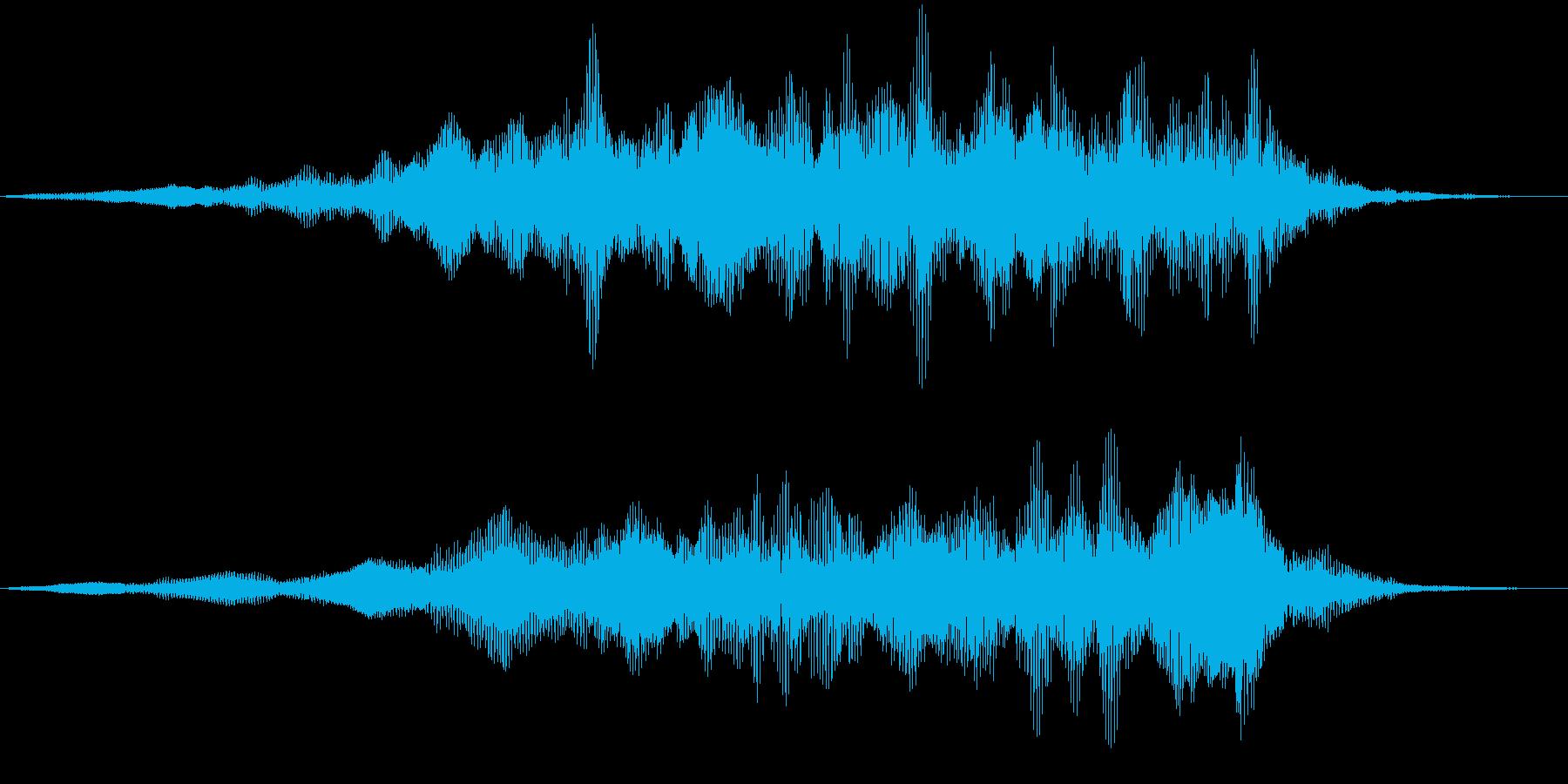 【ダークアンビエント】嫌な空気の再生済みの波形