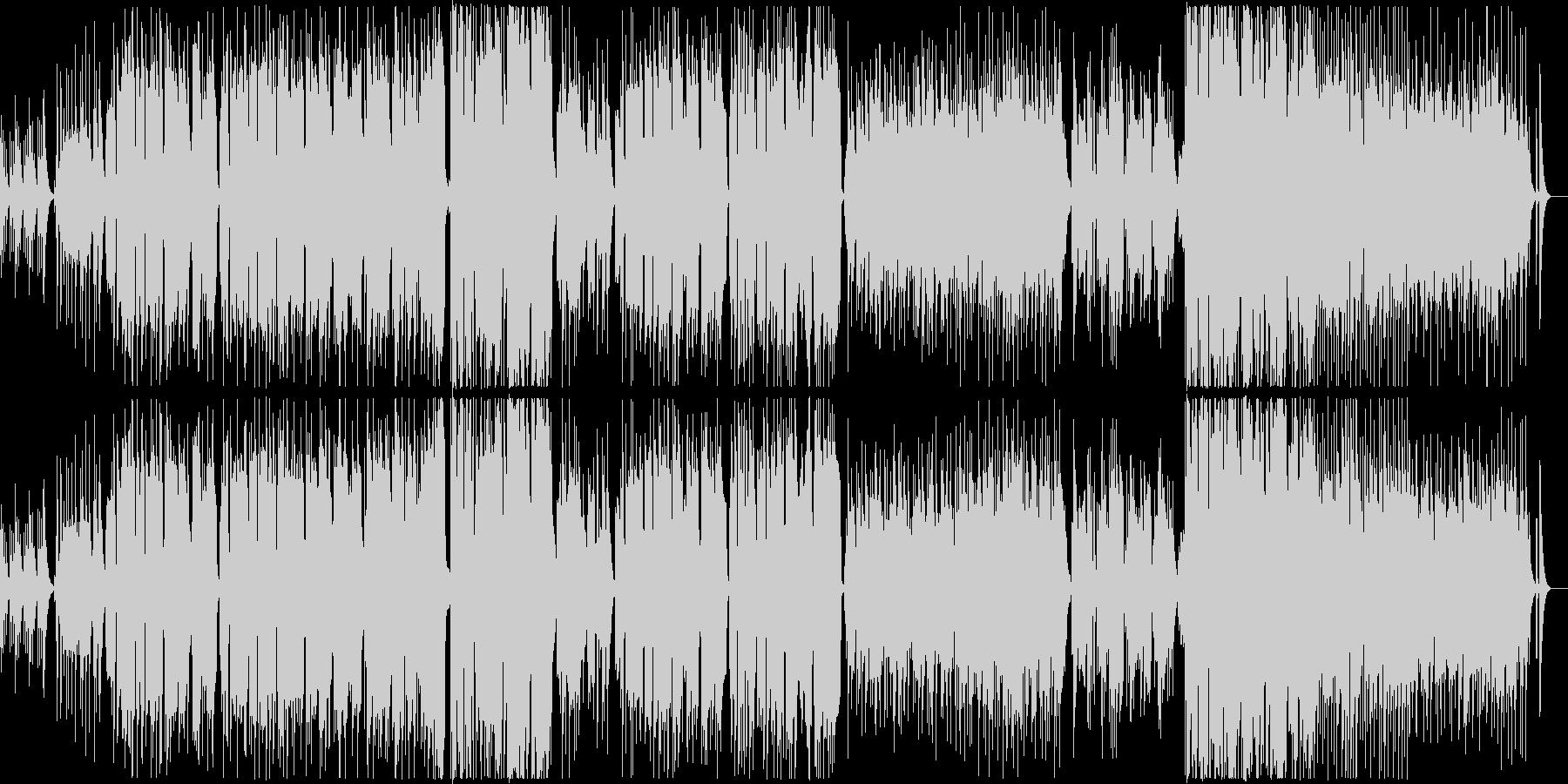 ウクレレが中心のやさしいバラードの未再生の波形