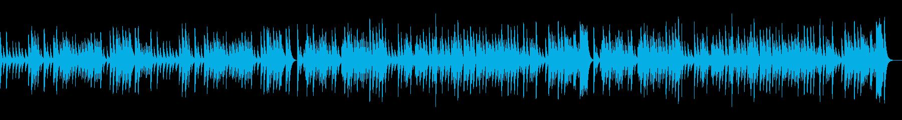 G線上のアリア/暖かい音色のオルゴールの再生済みの波形