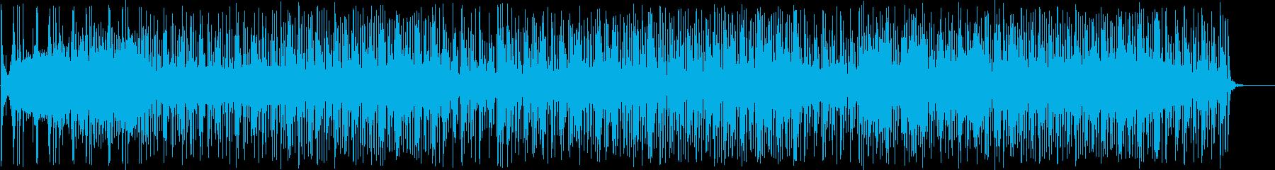 元気が出る!軽やかなパズル系BGMの再生済みの波形