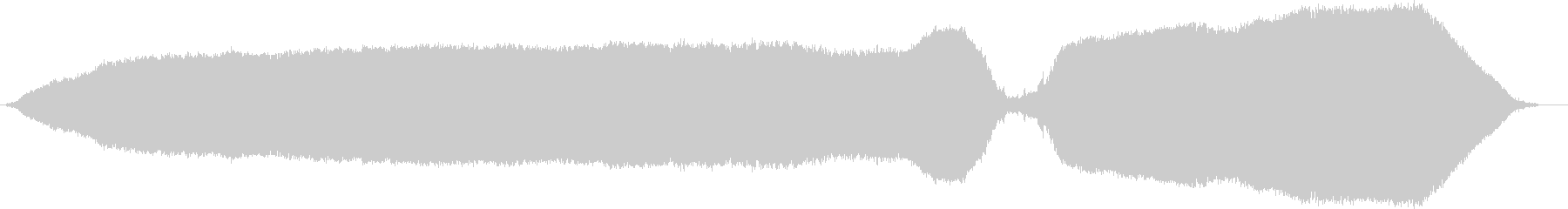 ホイッスルロングダブルブローc wavの未再生の波形