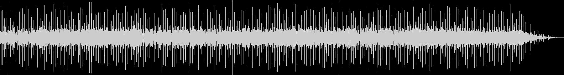 ボサノバ調の落ち着いたBGMの未再生の波形