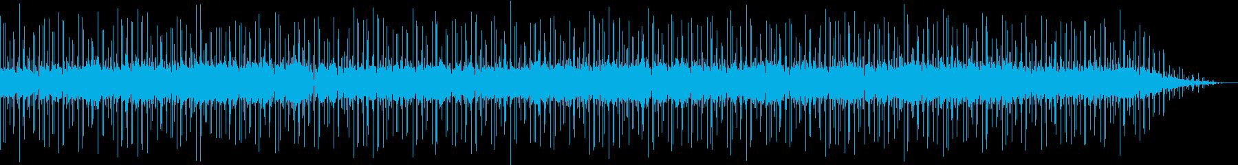 ボサノバ調の落ち着いたBGMの再生済みの波形