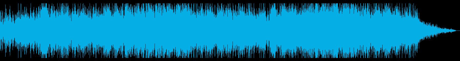 ミステリアスでグリッジなアンビエントの再生済みの波形