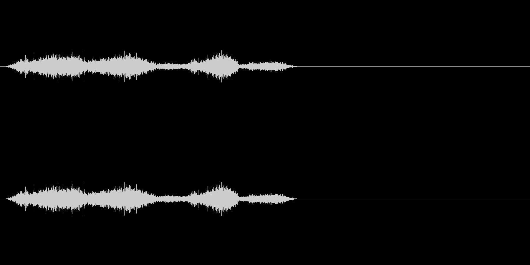 布団_布団の中で動く2の未再生の波形