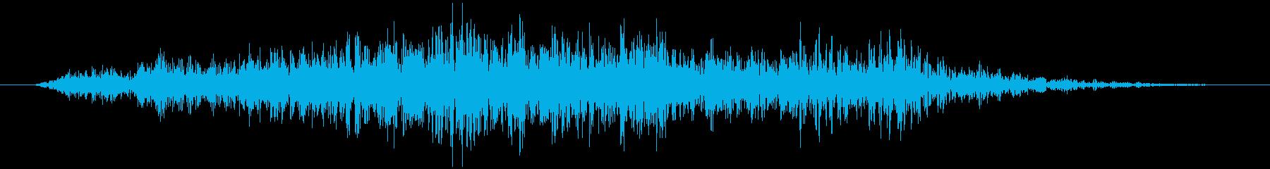 石、重い物などを動かす(ズリュッ)の再生済みの波形