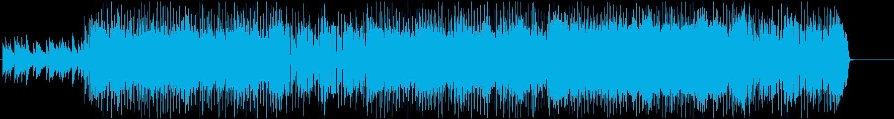 失敗から立ち上がる前向きなハードロックの再生済みの波形