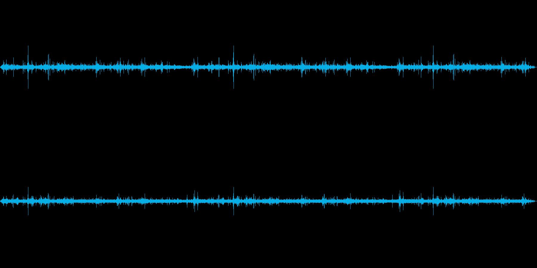 波の音~チャポチャポ音~岩場の波【生録】の再生済みの波形