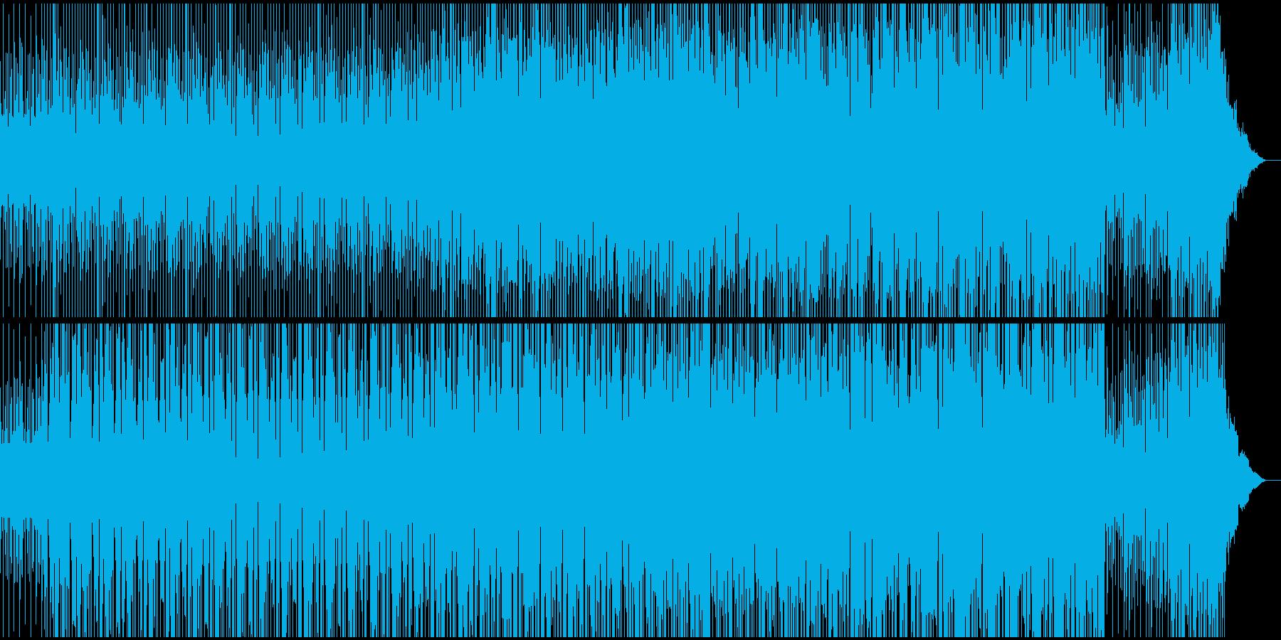 イベントなどのオープニングBGMの再生済みの波形