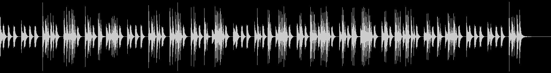 ほのぼの日常系、素朴な音色、ショートの未再生の波形