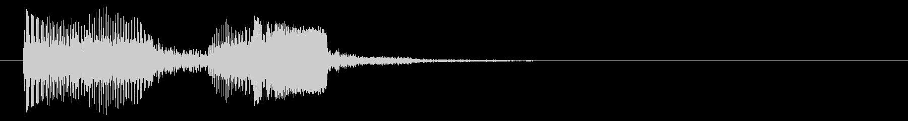 8ビット風システム音-18-1_revの未再生の波形