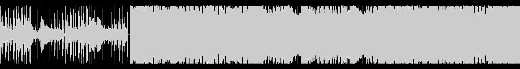 幻想的なピアノのLowfi HipHopの未再生の波形