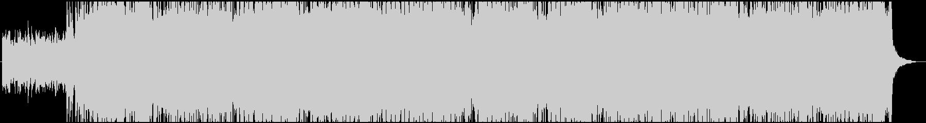 リフから始まるハイテンポのロックです。の未再生の波形