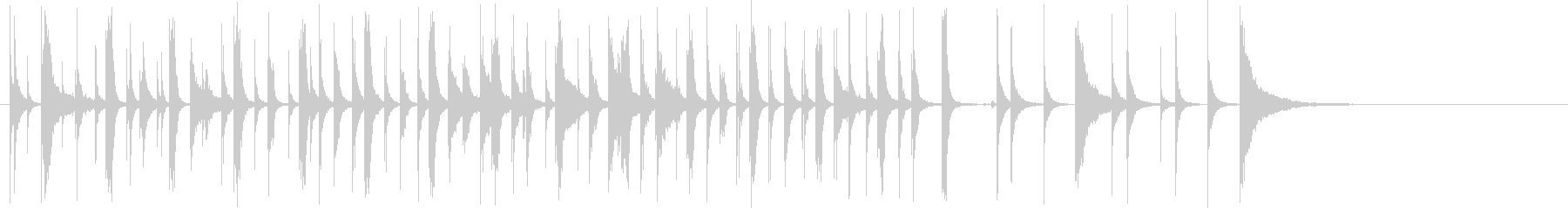 木琴メロディー:ケイジャン料理:A...の未再生の波形