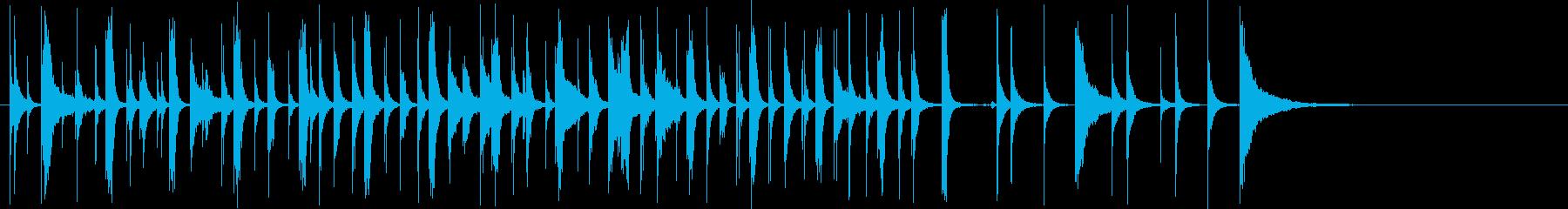 木琴メロディー:ケイジャン料理:A...の再生済みの波形