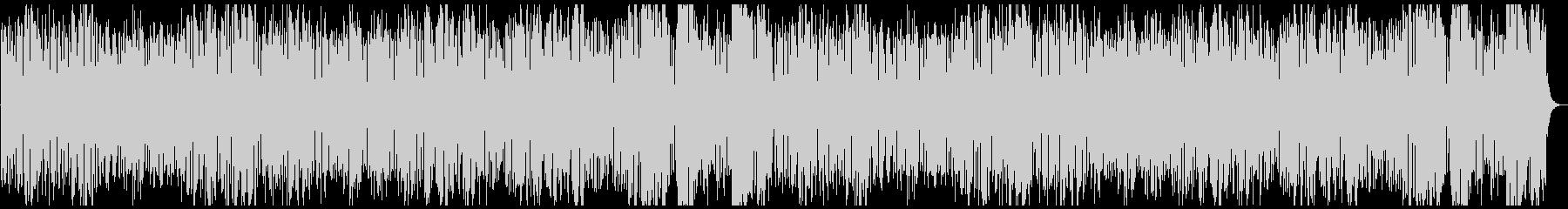 軽快な金管五重奏の未再生の波形