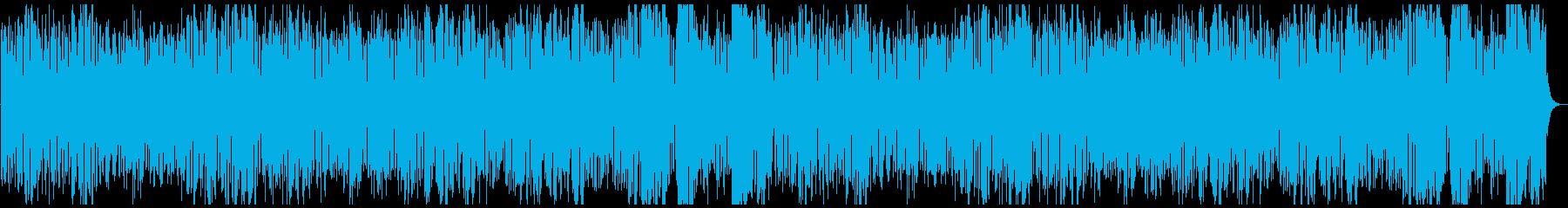 軽快な金管五重奏の再生済みの波形