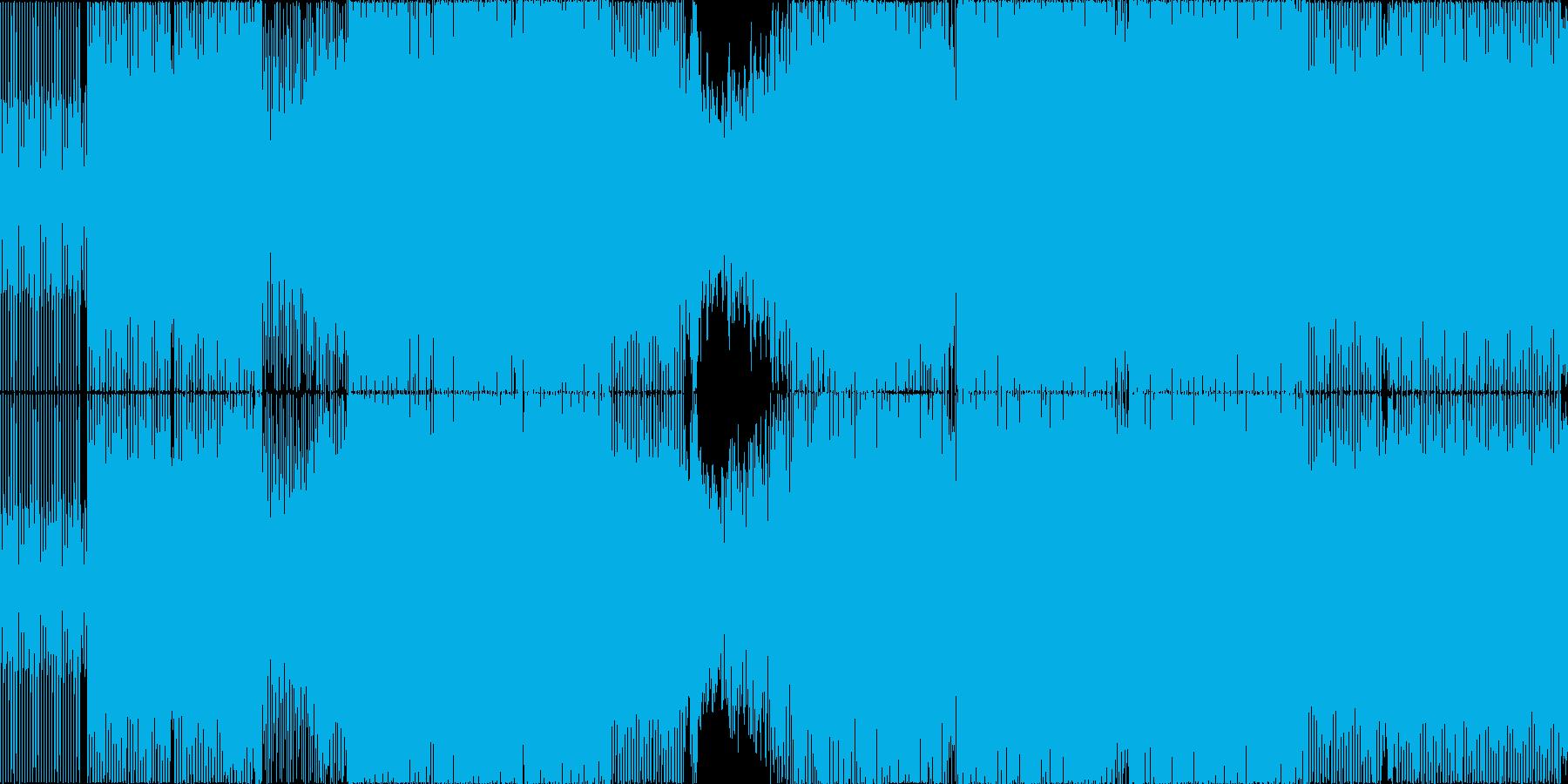 Oliver Heldens調EDMの再生済みの波形