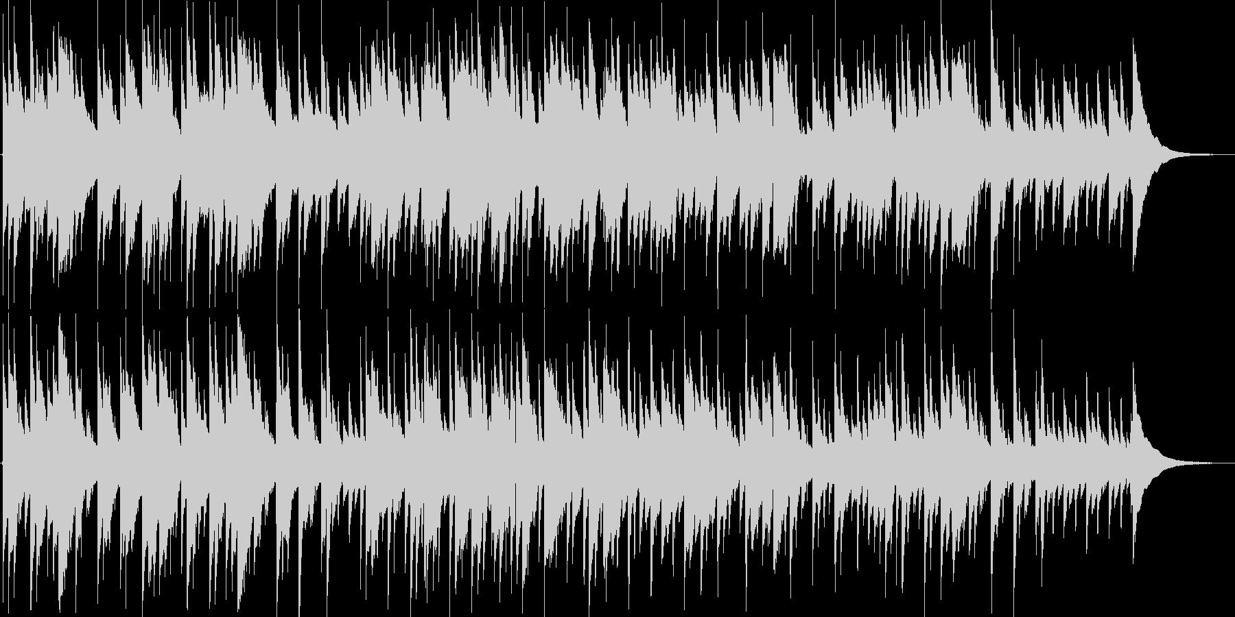 クラシックギターの昔を懐かしむ切ない曲の未再生の波形