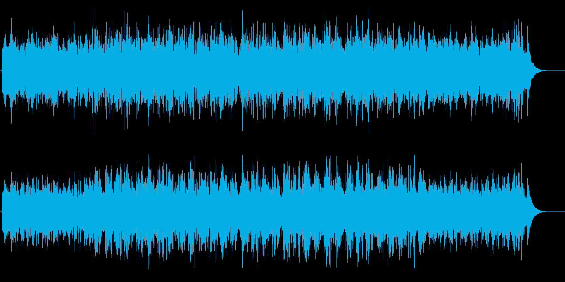 軽やかで爽やかな美しいアンビ系ポップスの再生済みの波形