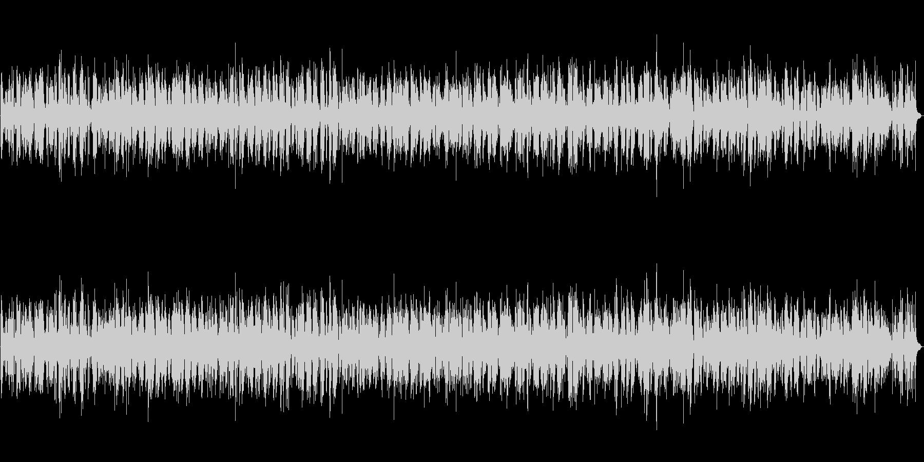 BARでやさしく流れるジャズバラードの未再生の波形