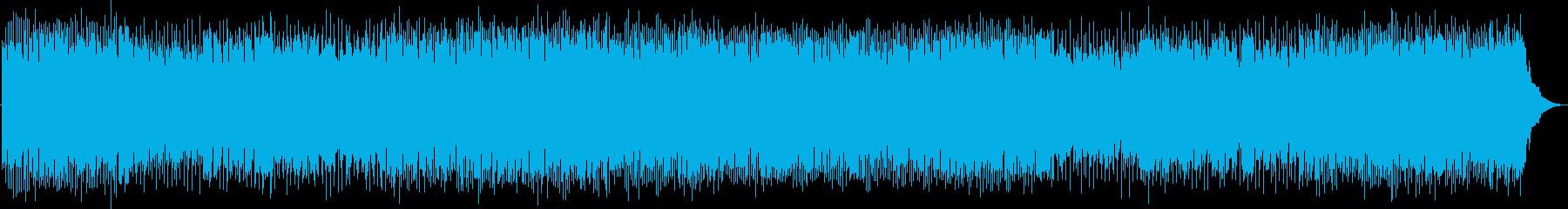 疾走感あふれるアコースティックロックの再生済みの波形