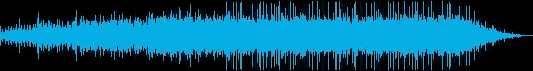 ピアノ&アコギ&ストリングス爽やかな楽曲の再生済みの波形