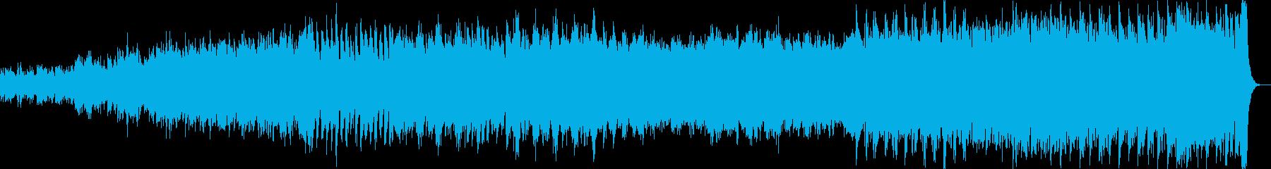 段々盛り上がる壮大な変奏曲:企業VP 等の再生済みの波形