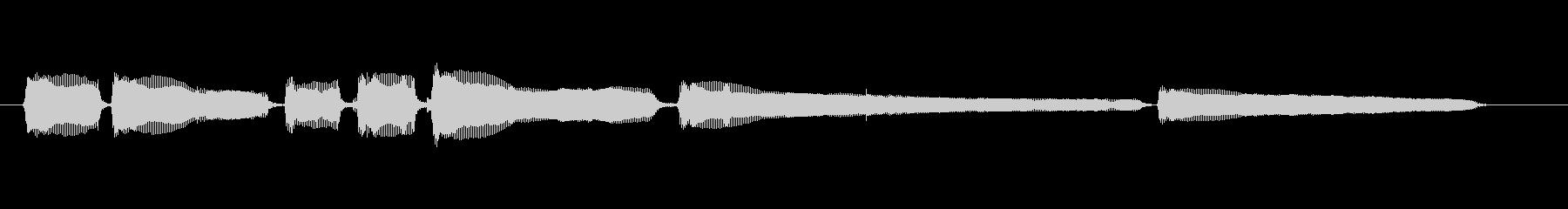 生音エレキギター5弦チューニング2の未再生の波形