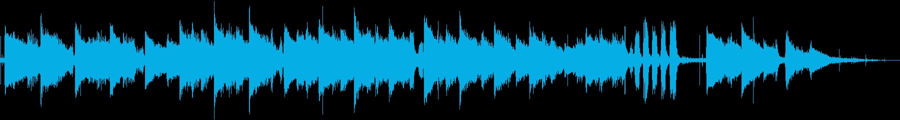 フィンガースタイルブルーグラスを演...の再生済みの波形