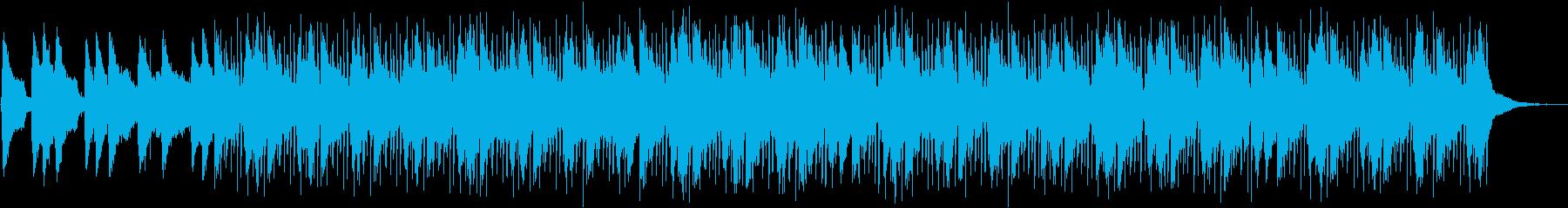 雨の日をイメージしたLoFi HipHoの再生済みの波形
