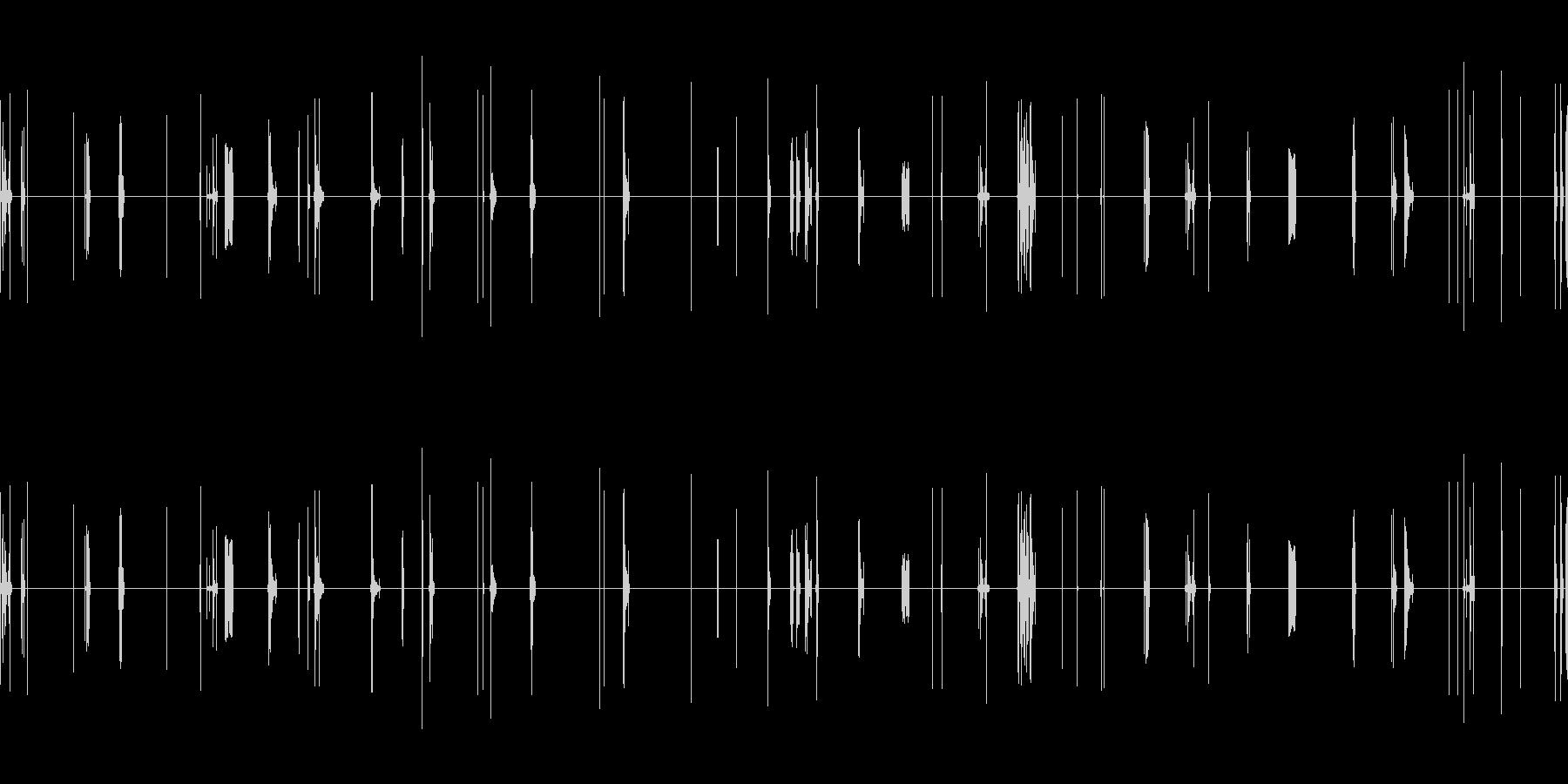 ショートサーキット、フレアードワイ...の未再生の波形
