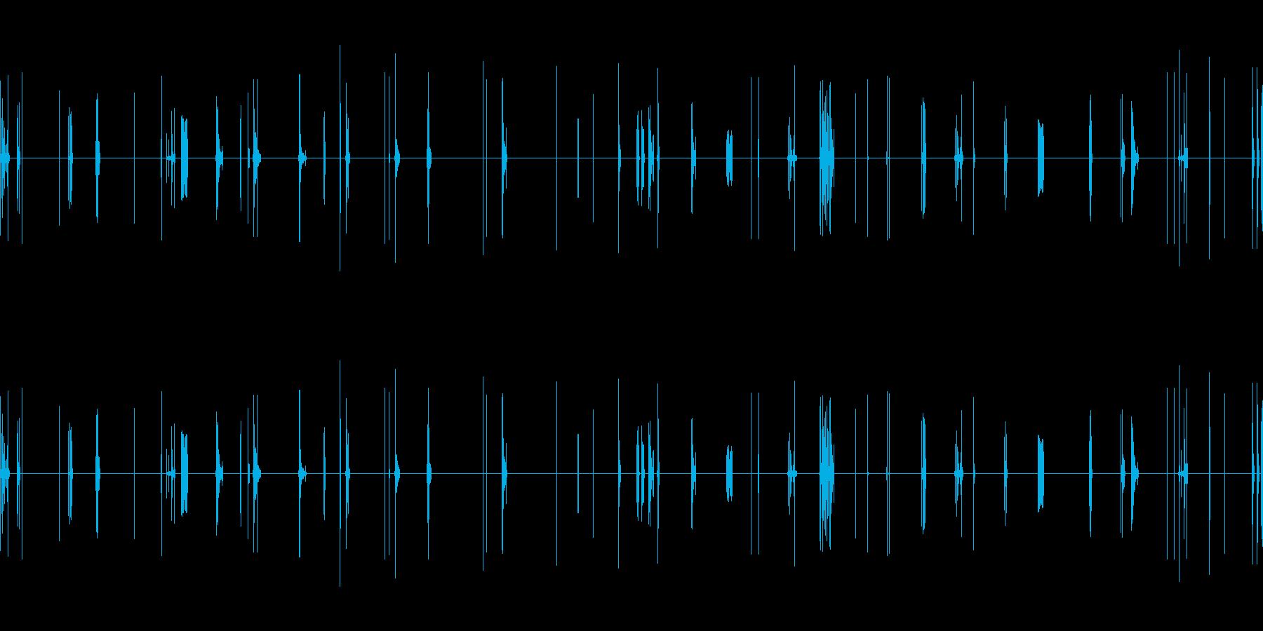 ショートサーキット、フレアードワイ...の再生済みの波形