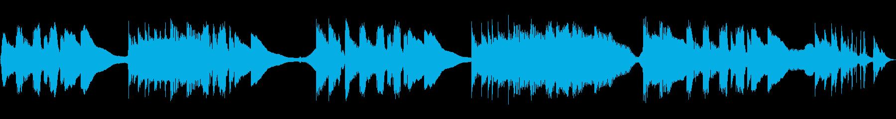 マイルドパーカッションミュージカル...の再生済みの波形