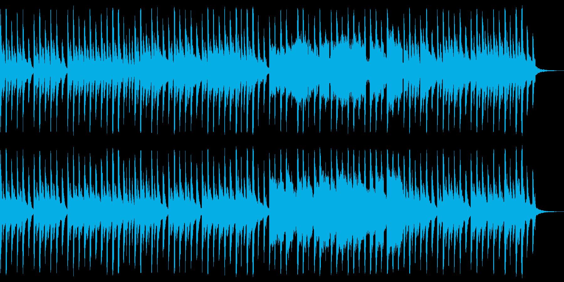 子供のような可愛らしい曲01の再生済みの波形