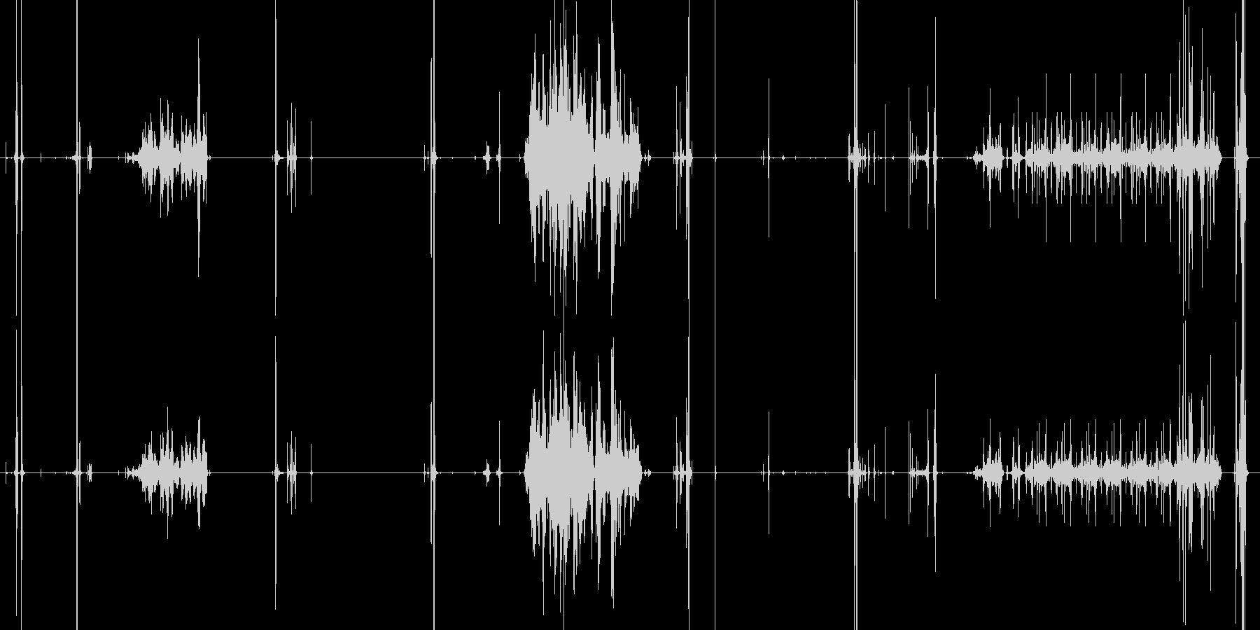 ペンシルシャープナー、マニュアル、...の未再生の波形