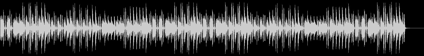 猫踏んじゃった【ピアノ】(ミドルテンポ)の未再生の波形