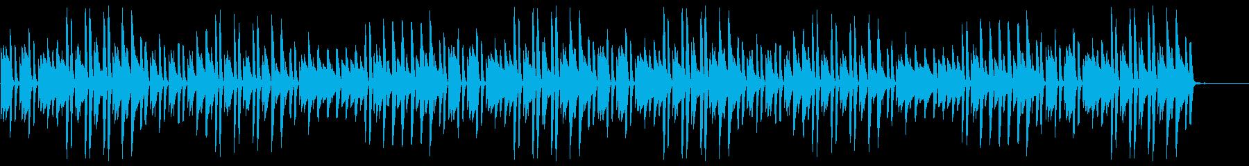 猫踏んじゃった【ピアノ】(ミドルテンポ)の再生済みの波形